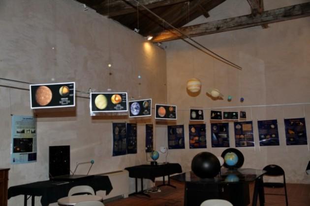 Photo Expo Système Solaire au MDS intérieur