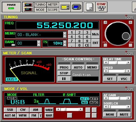 interface pc ic pcr 1000