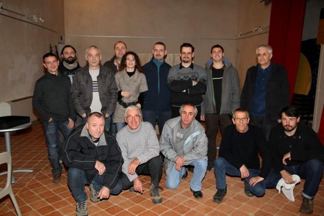 Photo des membres présents lros de l'AG 2012